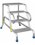 aluminiowe Schody przystawne i dostawne