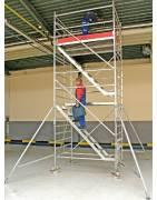 rusztowanie aluminiowe Krause Stabilo 5500 + schody