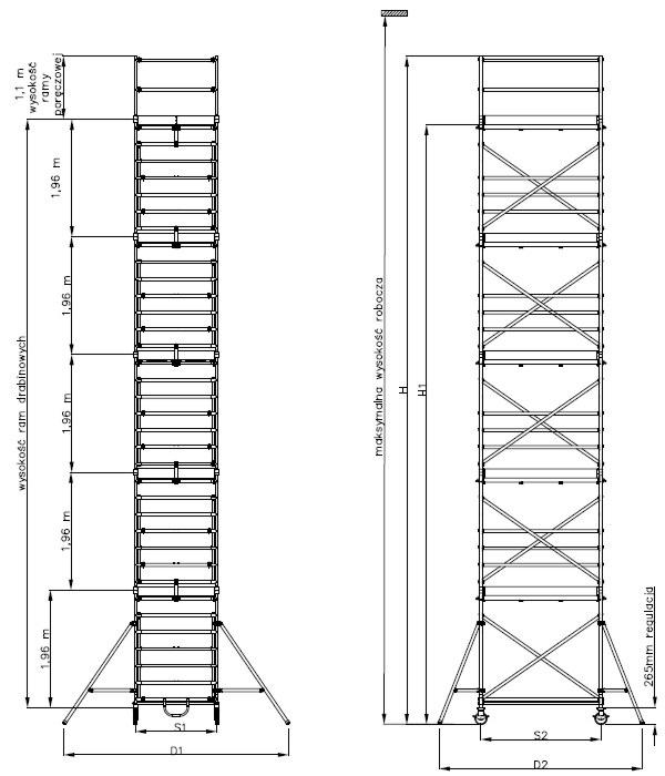 Drabex Ra 1120s dane techniczne